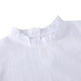 Conjunto de camiseta y pantalón corto de verano de dos piezas para niña