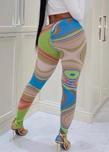 Sommer Multicolor Sexy High Waist Leggings