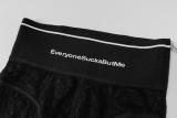 Leggings ajustados sexy de encaje negro de fiesta de verano