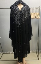 アラブドバイアラブ中東トルコモロッコイスラム服ラインストーンカフタンアバヤイスラム教徒のドレス