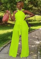 Sommer formaler grüner eleganter Halter-Overall