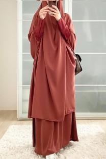 Арабский Дубай Арабский Ближний Восток Турция Марокко Исламская одежда Кафтан Абая Мусульманское платье из двух частей