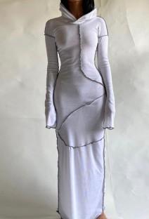 Арабский Дубай Арабский Ближний Восток Турция Марокко Исламская одежда Кафтан Абая Мусульманское платье с капюшоном Белый