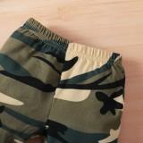 Completo 3 pezzi pantalone mimetico autunno bebè Baby
