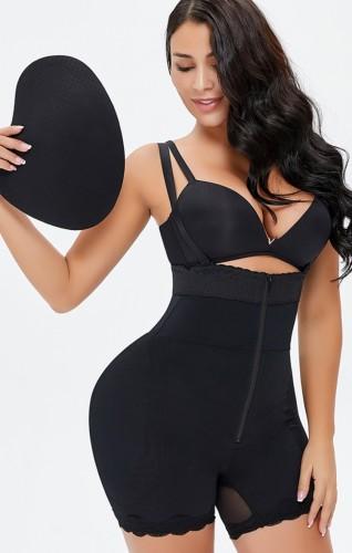 Shaper sexy à bretelles noires