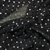 Herbst Sexy Black Dot Print Unregelmäßiges Partykleid