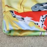 Sommer-Print Sexy Träger-Crop-Top und Hosen-Set
