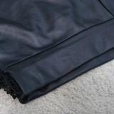 Sommer Sexy Schwarzer Quasten-BH und passende Shorts Set