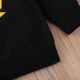 Zweiteiliges Hosen-Set für Jungen mit Herbst-Print