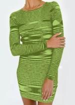 Winter Casual Knitting Mini Bodycon Kleid