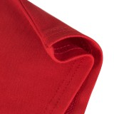 Herbst formales rotes Spitzen-Patch-Vintage-Bleistift-Kleid