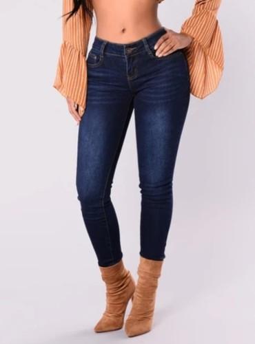 Curvy Regular Fit Jeans in Herbstblau