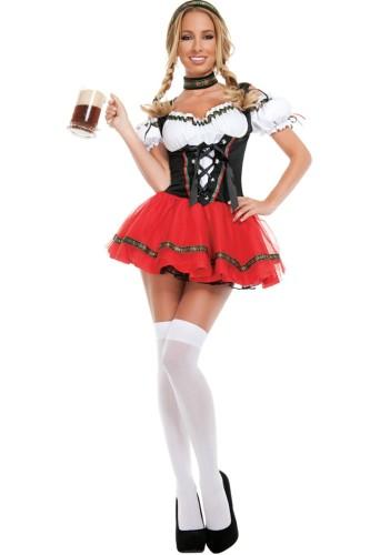 Seksi Karnaval Cadılar Bayramı Partisi Bira Wench Garson Kız Cosplay Kostüm