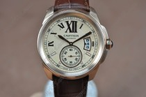 カルティエCartier Calibre de cartier RG/LE Rose Gold Dial Asia Automatic自動巻き