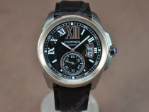 カルティエCartier Calibre de cartier TT/LE Black Asia Automatic自動巻き