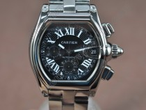 カルティエCartier Roadster Chrono SS Men Asia 7750自動巻き