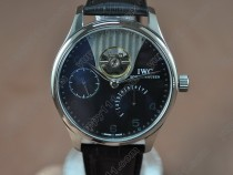 IWC Portuguese Power Reserve SS/LE Black Asian Auto自動巻き