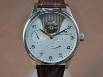 IWC Portuguese Power Reserve SS/LE White Asian Auto自動巻き