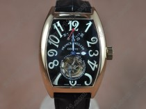 フランクミューラーFranck Muller Casablanca RG/LE Asian Flying Tourbillon Handwindトゥービヨン