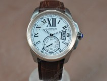 カルティエCartier Calibre de cartier TT/LE White Asia Automatic自動巻き