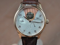 IWC Portuguese Power Reserve RG/LE White Asian Auto自動巻き