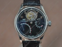 Iwc Portugese Mystere SS/LE Black dial Tourbillon Manualトゥールビヨン
