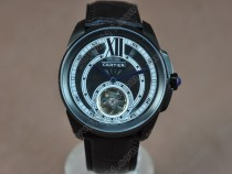 カルティエCartier Calibre de cartier PVD/LE Black Asia Automatic自動巻き