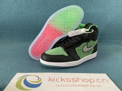 "AuthenticAir Jordan 1 High Zoom ""Rage Green"""
