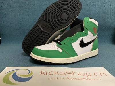 """Authentic Air Jordan 1 High OG WMNS """"Lucky Green"""""""