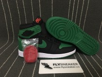 "Authentic Air Jordan 1Retro High GS OG ""Pine Green"