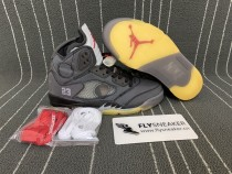 Authentic Jordan 5s x OFF-WHITE
