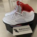 "Authentic Jordan 5s ""Fire Red"" 2020"