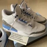Authentic Air Jordan 3s UNC 2020