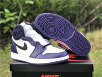 """Authentic Air Jordan 1s GS """"Court Purple"""""""