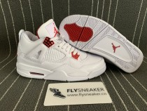 "Authentic  Air Jordan 4 ""Red Metallic"""