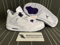 "Authentic  Air Jordan 4 """"Court Purple"""