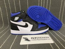 "Authentic Air Jordan 1s "" Royal Toe"""