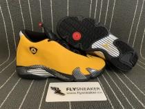 Authentic Air Jordan 14 Retro Yellow Ferrari