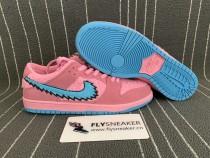 Grateful Dead x Nike SB Dunk Low pink