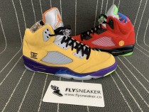 Authentic Air Jordan 5 What The