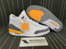 "Authentic Air Jordan 3 WMNS ""Laser Orange"