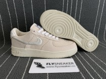 Nike Air Force 1 Low/ Stussy White