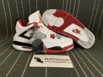 "Authentic Air Jordan 4 ""Fire Red"" 2020"