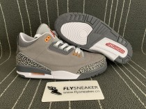 Authentic Jordan 3 ``Cool Gray''