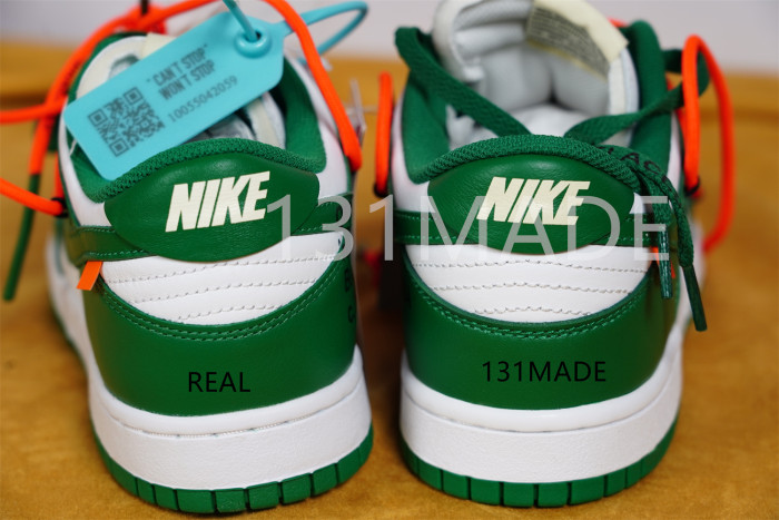 Nike SB Dunk Low x Off-White LTHR