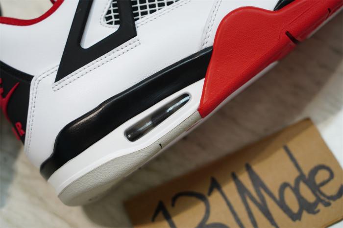 "Air Jordan 4 ""Fire Red"" 2020 Edition"