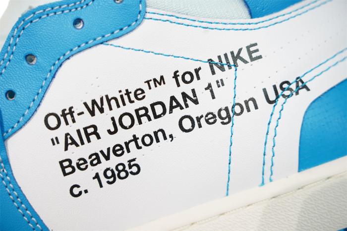 """Air Jordan 1 Retro High X Off—White OG """"UNC"""""""