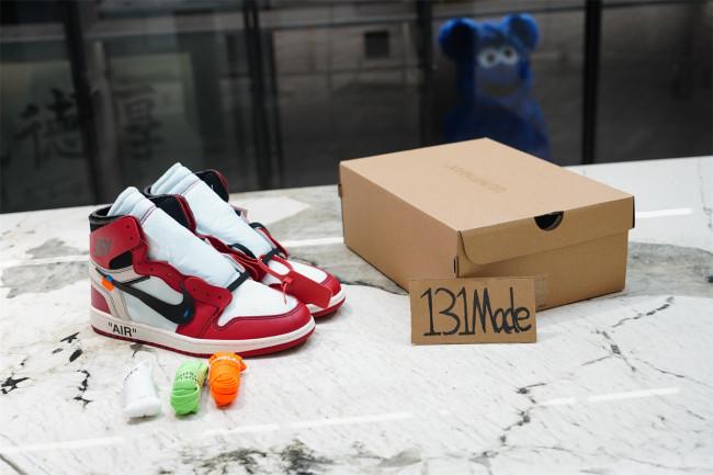 "Air Jordan 1 Retro High X Off—White The Ten ""Chicago"""