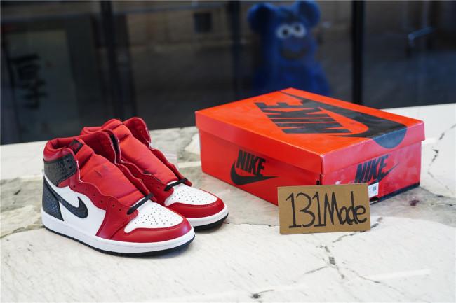"Air Jordan 1 Retro High OG ""Satin Red"""