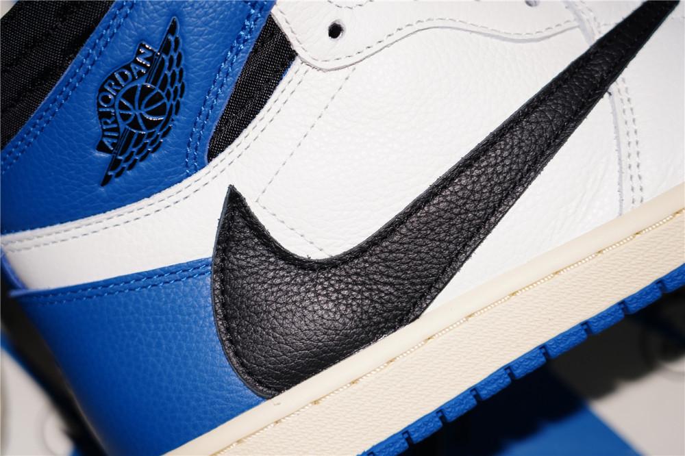 Travis Scott x Fragment x Air Jordan 1 High OG  Military Blue